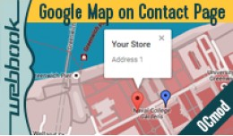 Google Map on Contact page (OCmod)
