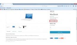 SKU @ Product Page
