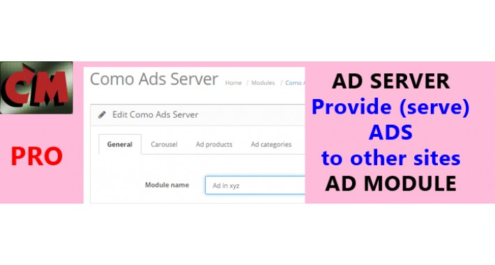 Ads provider to other sites