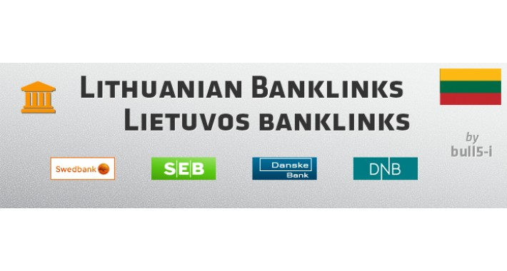 Lithuanian Banklinks / Lietuvos banklinks