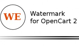 Watermark for OpenCart 2.x.x.x