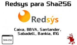 Redsys 2016 para protección sha256