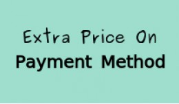 Extra Charges For Payment Mehtod