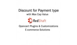 Discount for Payment type with Max Cap Value