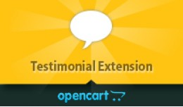 OpenCart Testimonial Extension