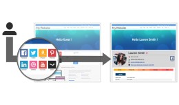 Social Login with 30+ Social Networks