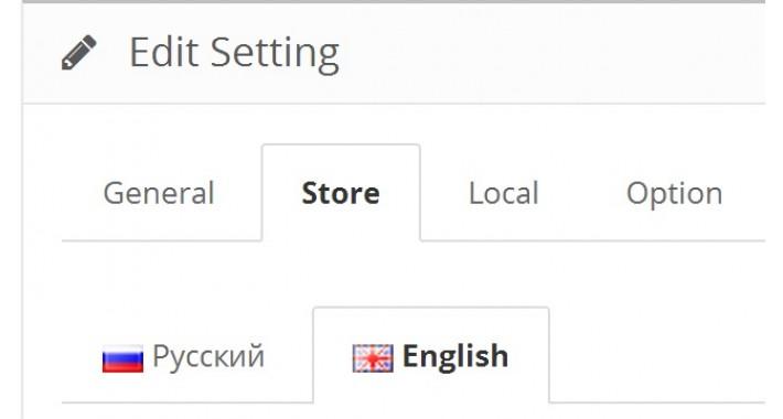 Multilingual Settings