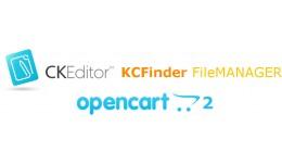 CKEditor + KCFinder for Opencart 2.x