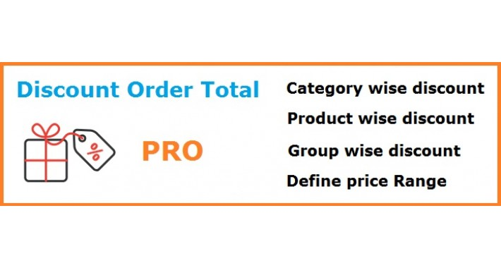 Discount On Order Total PRO