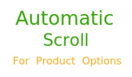 Automatic Next Option Scroll For Product Options