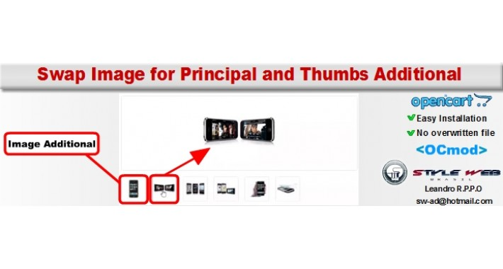 Swap Image for Principal and Thumbs Additional