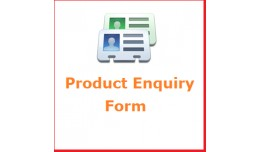 Product Enquiry form on product page