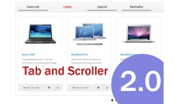 Tab and Scroller 4in1 Featured Latest Special Be..