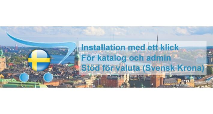 ✔ Professionell Svenska | Swedish Pack Pro for OpenCart 2.x