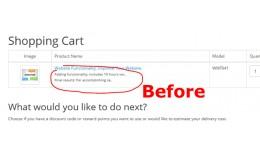Long Text for Catalog Options in Opencart Shoppi..