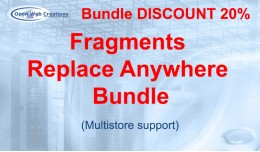 Fragments Replace Anywhere Bundle