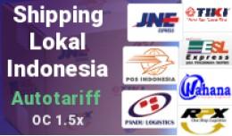 Shipping Lokal Indonesia - JNE,TIKI,POS,RPX,JNT,..