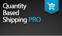 Quantity-Based Shipping PRO