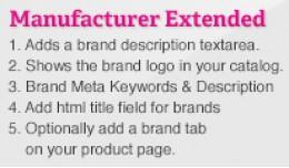 Manufacturer Extended