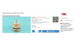 QR Code on Product Page