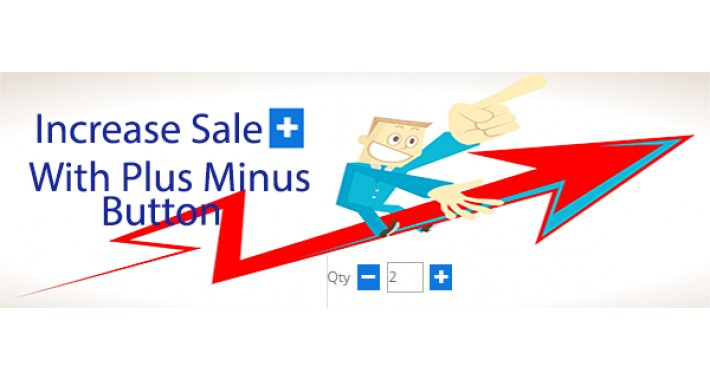 Add Plus Minus Button In ALL Website in just 10$