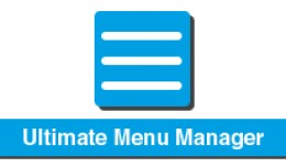 Ultimate Menu Manager