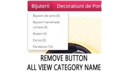 Primary category button clickable