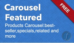 Featured Carousel Module for Opencart 2.x