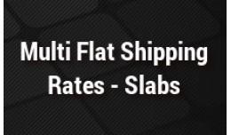 Advance Multi Flat Shipping Rates - Slabs