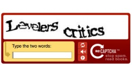 reCaptcha - Contact and Review