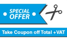 Take Coupon off Total+VAT