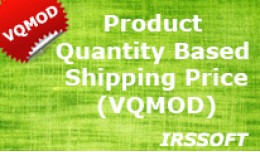Product Quantity Based Shipping Price (VQMOD)