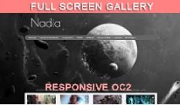 Nadia Responsive Theme Template OC2