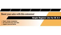 Simple Registration Lite