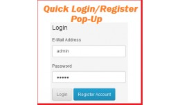 Login & Registration popup  before add to cart
