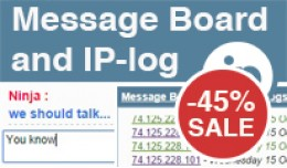 Message Board and IP-Log – Ajax Chat Enhanced ..