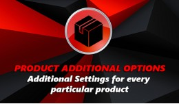Product additional options