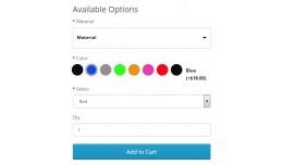 Option Image DropDown + Color Option + Live Pric..