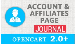 (New) JOURNAL Account & Affiliates Page for ..