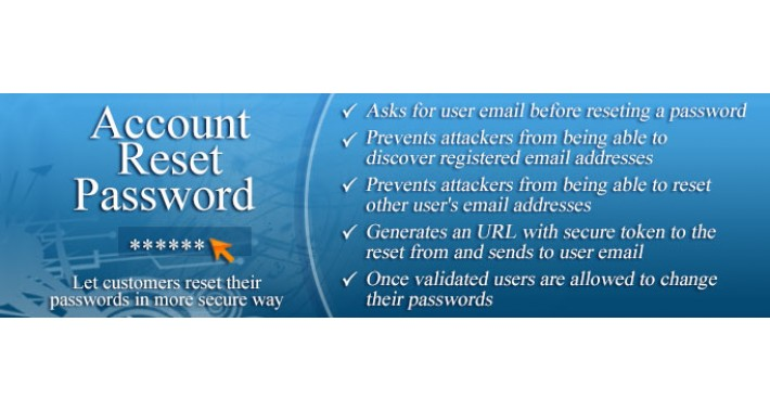 Account Reset Password