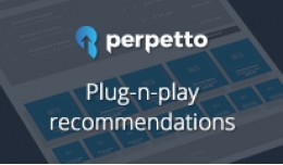 Perpetto - Plug-n-play recommendations