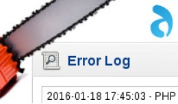 Antropy Error Log Trimmer