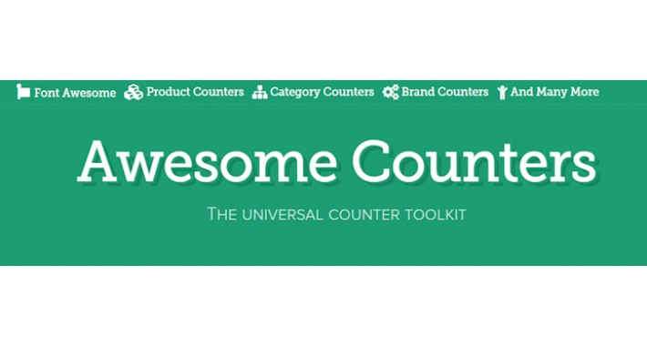Awesome Counters by GrandCMS.com