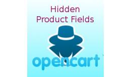 Hidden Product Fields
