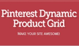 Pinterest Dynamic Product Grid by GrandCMS.com