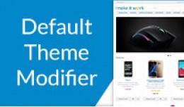 Default Theme Modifier