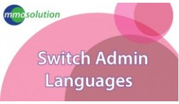 Switch Admin Languages