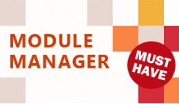 Module Manager - Save you time on your module as..