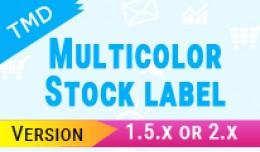 TMD Multicolor Stock label(1.5.xand2.x)