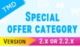 TMD Special offer category 2.x
